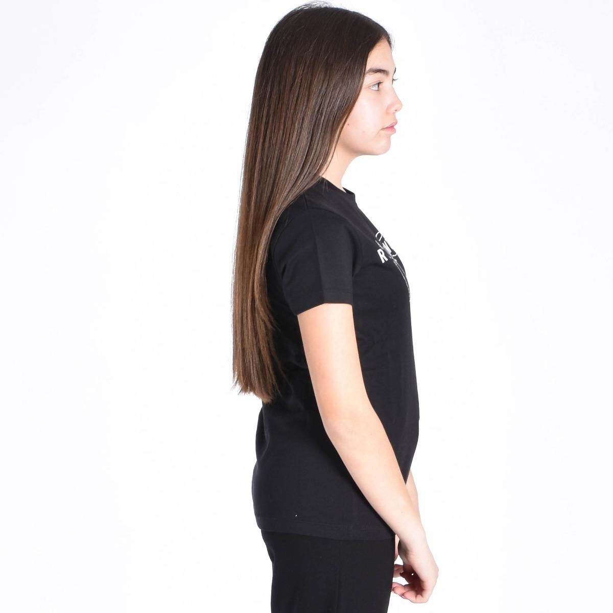 T-shirt malun- Nero