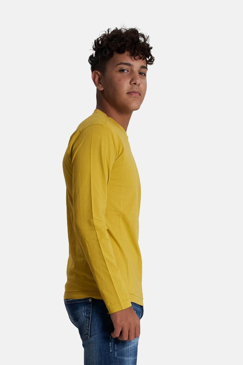 T-shirt relax - Mustard