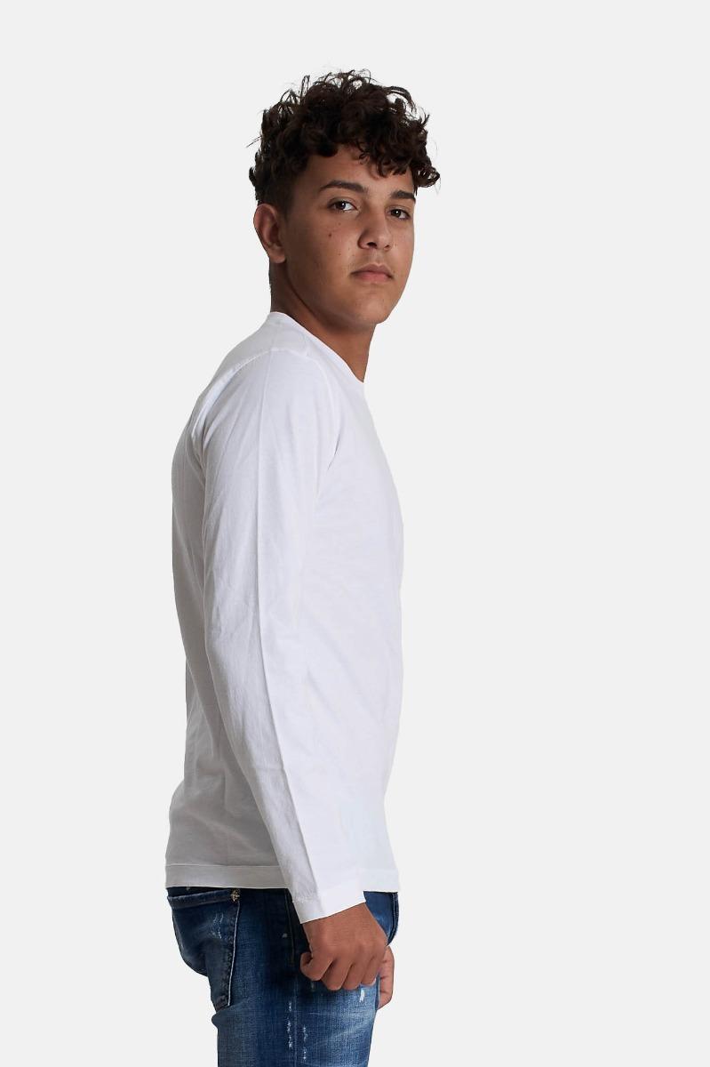 T-shirt relax - Bianco