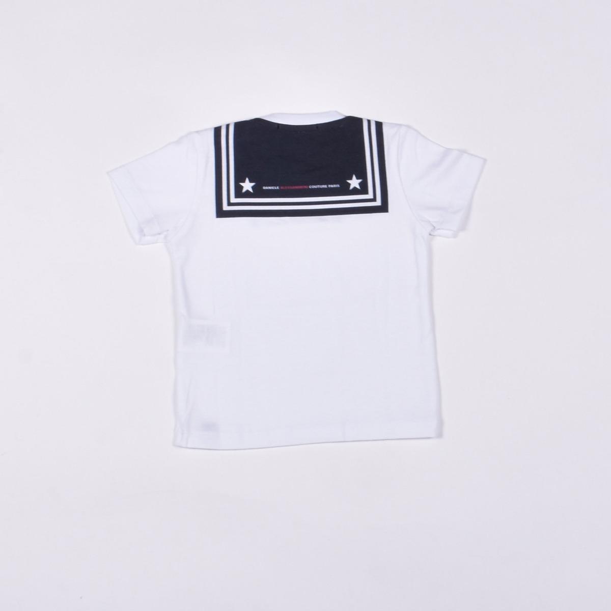 T-shirt marinaio - Bianca
