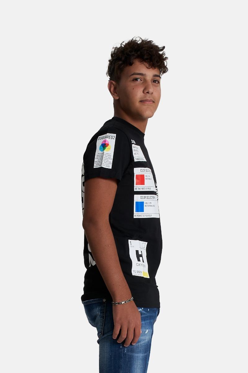 T-shirt relax- Nero