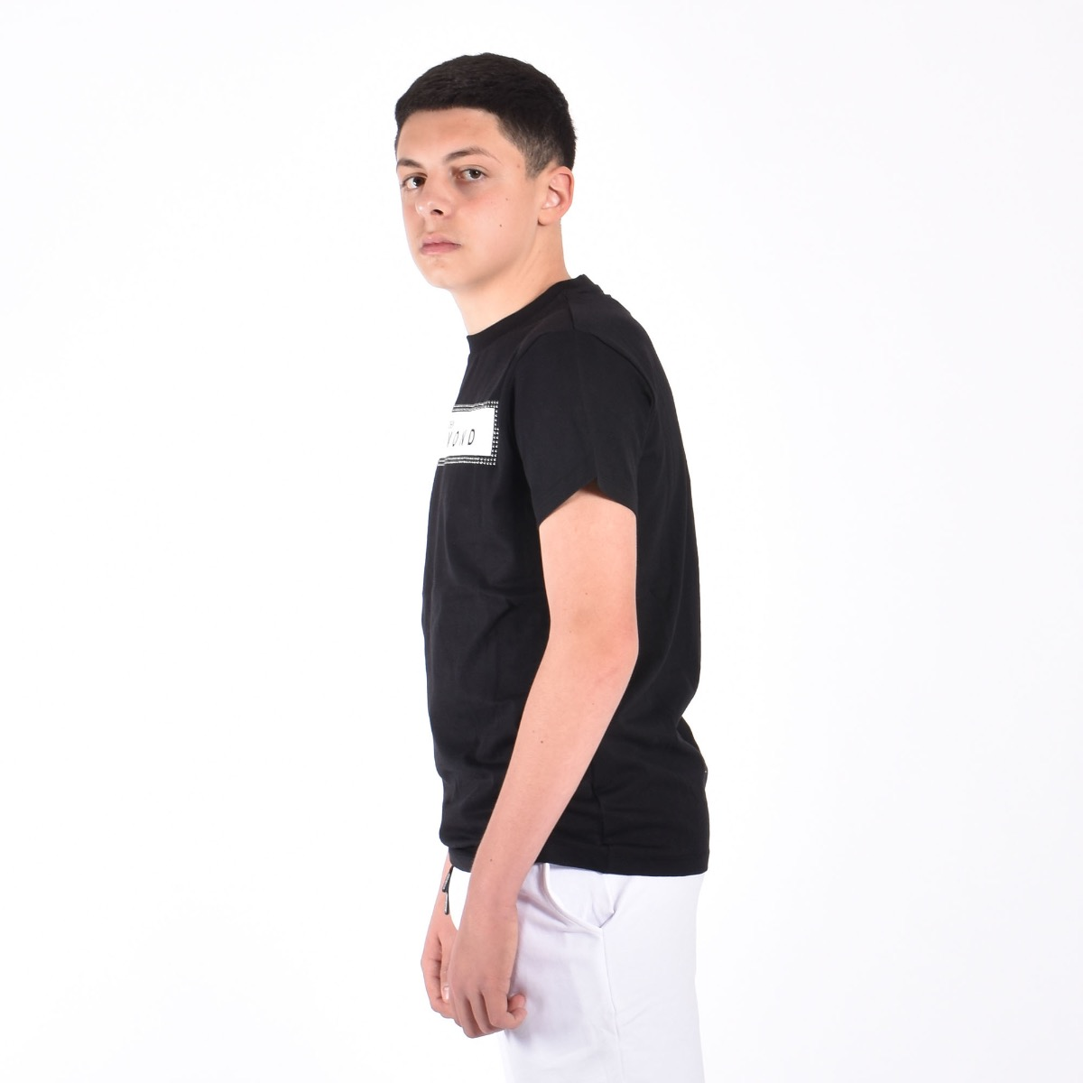 T-shirt over bamip - Nero