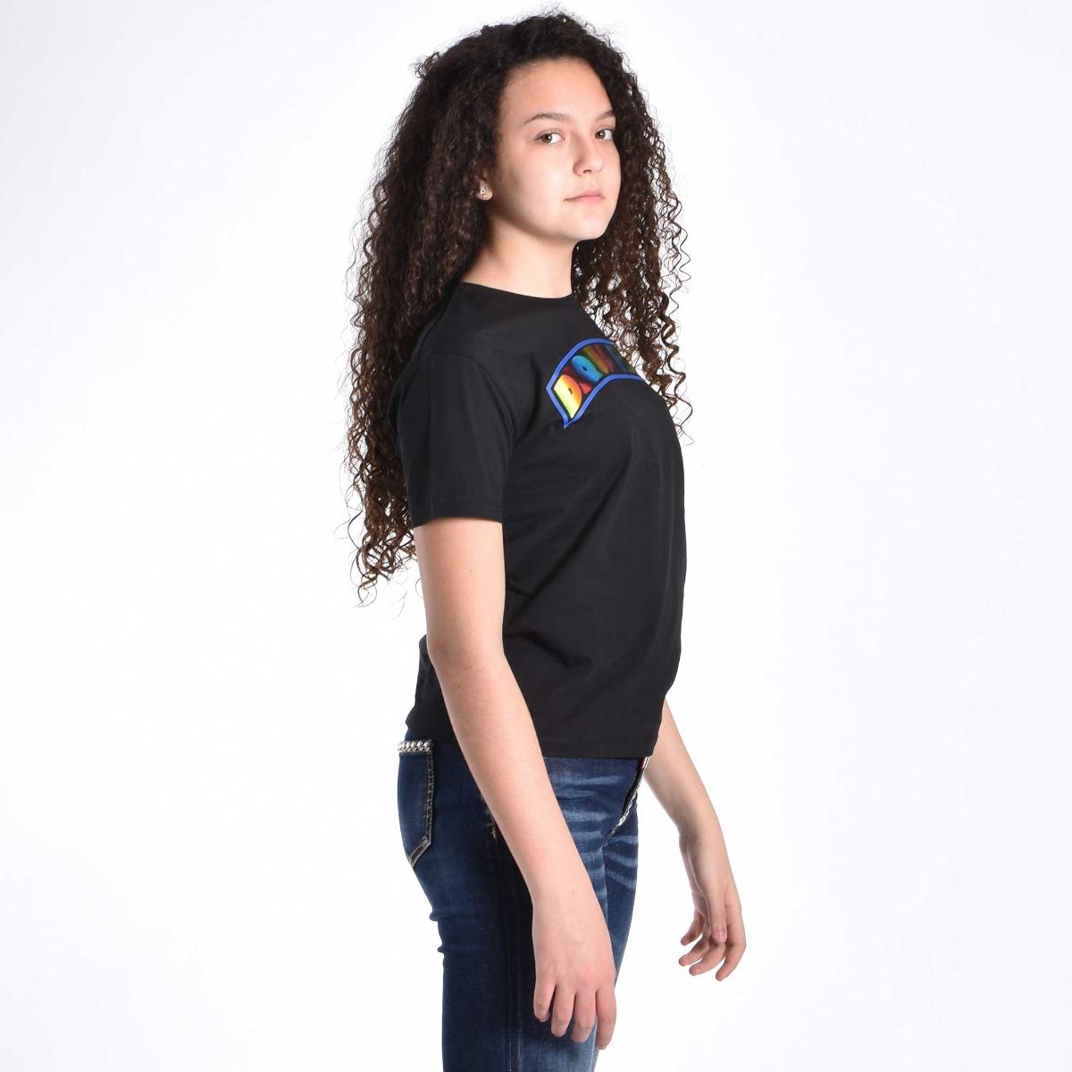 T-shirt logo- Nero