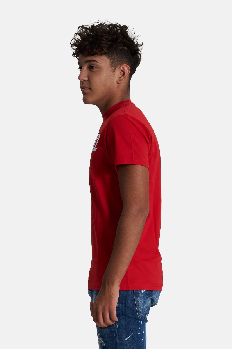 T-shirt relax- Rosso