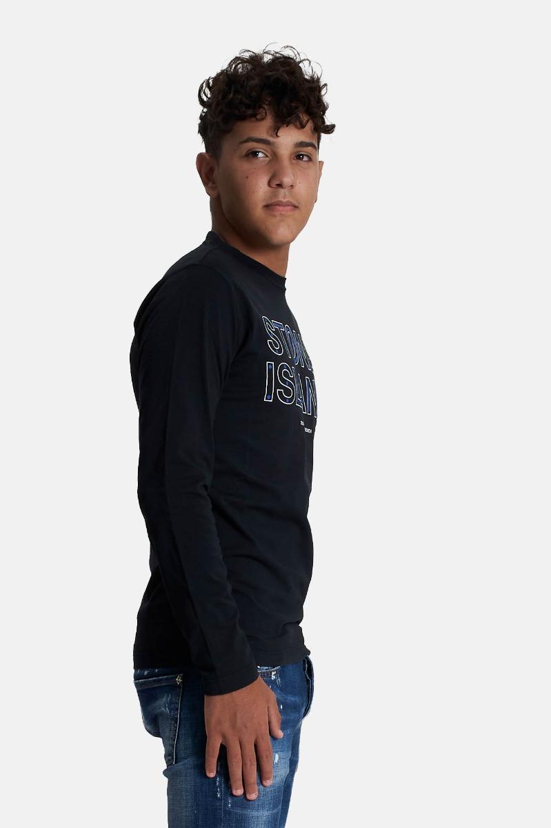 T-shirt stampa - Nero