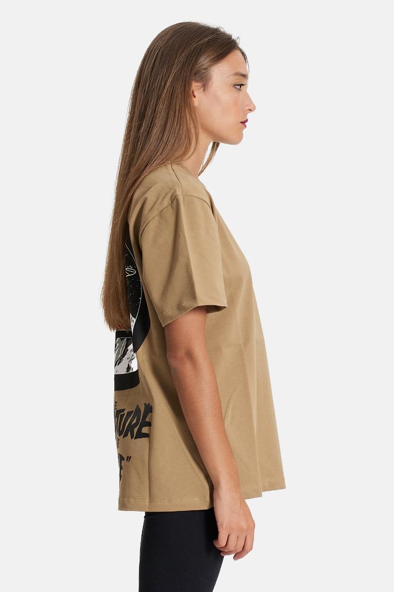 T-shirt unisex universo - Fango