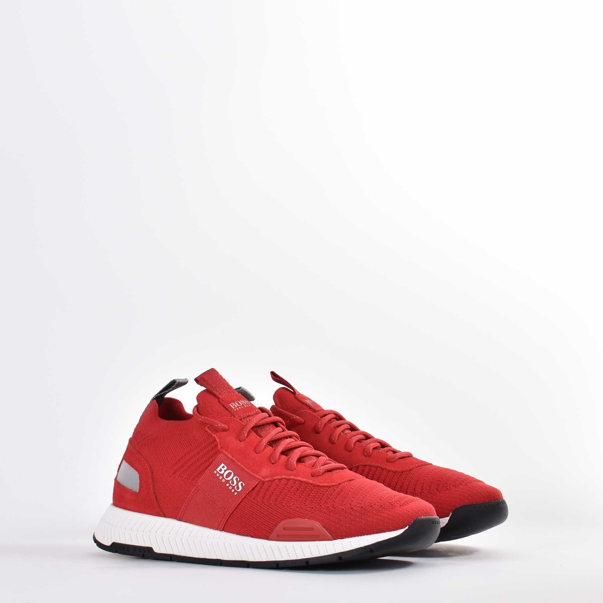 Sneakers titanium runn- Rosso
