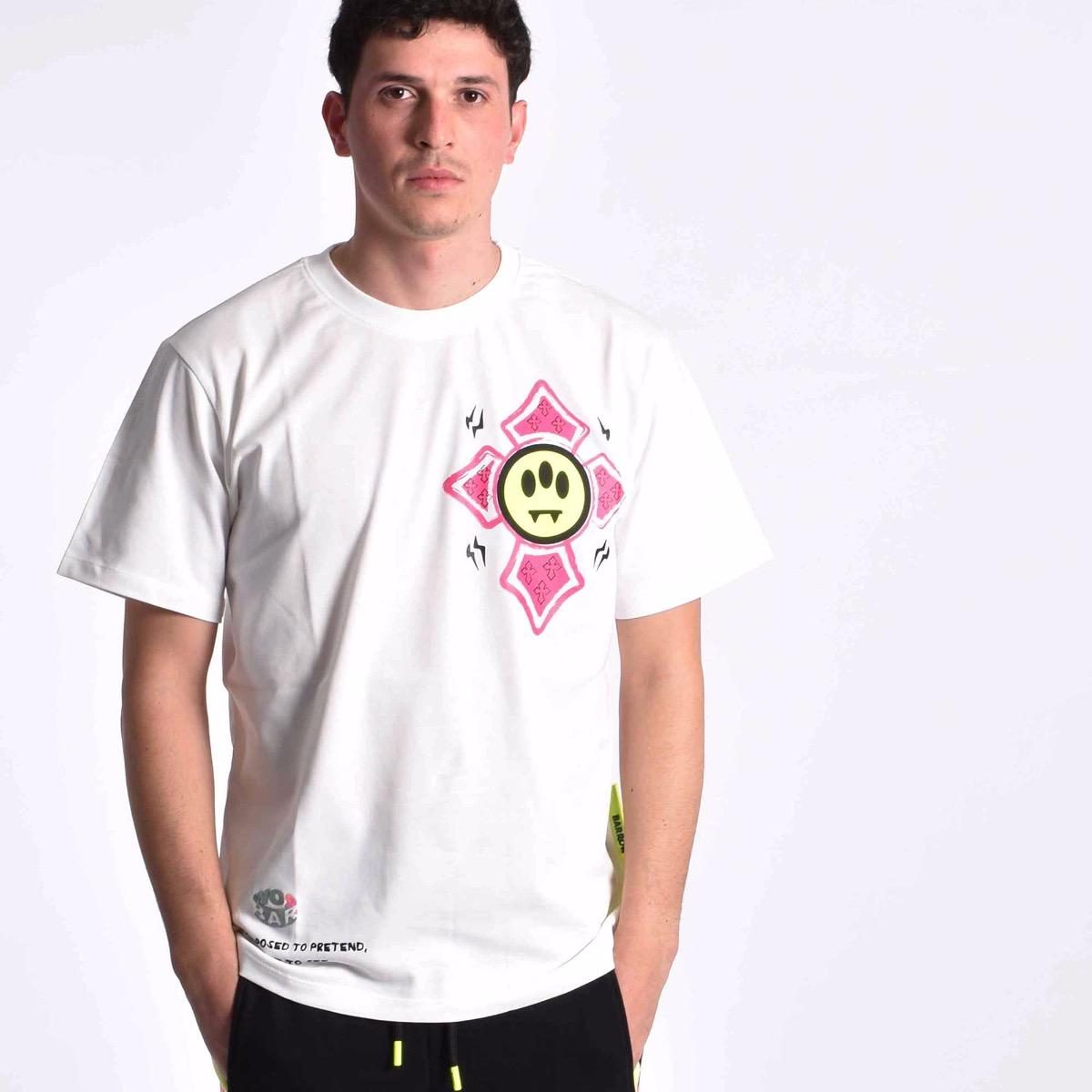 T-shirt slogan - Bianco