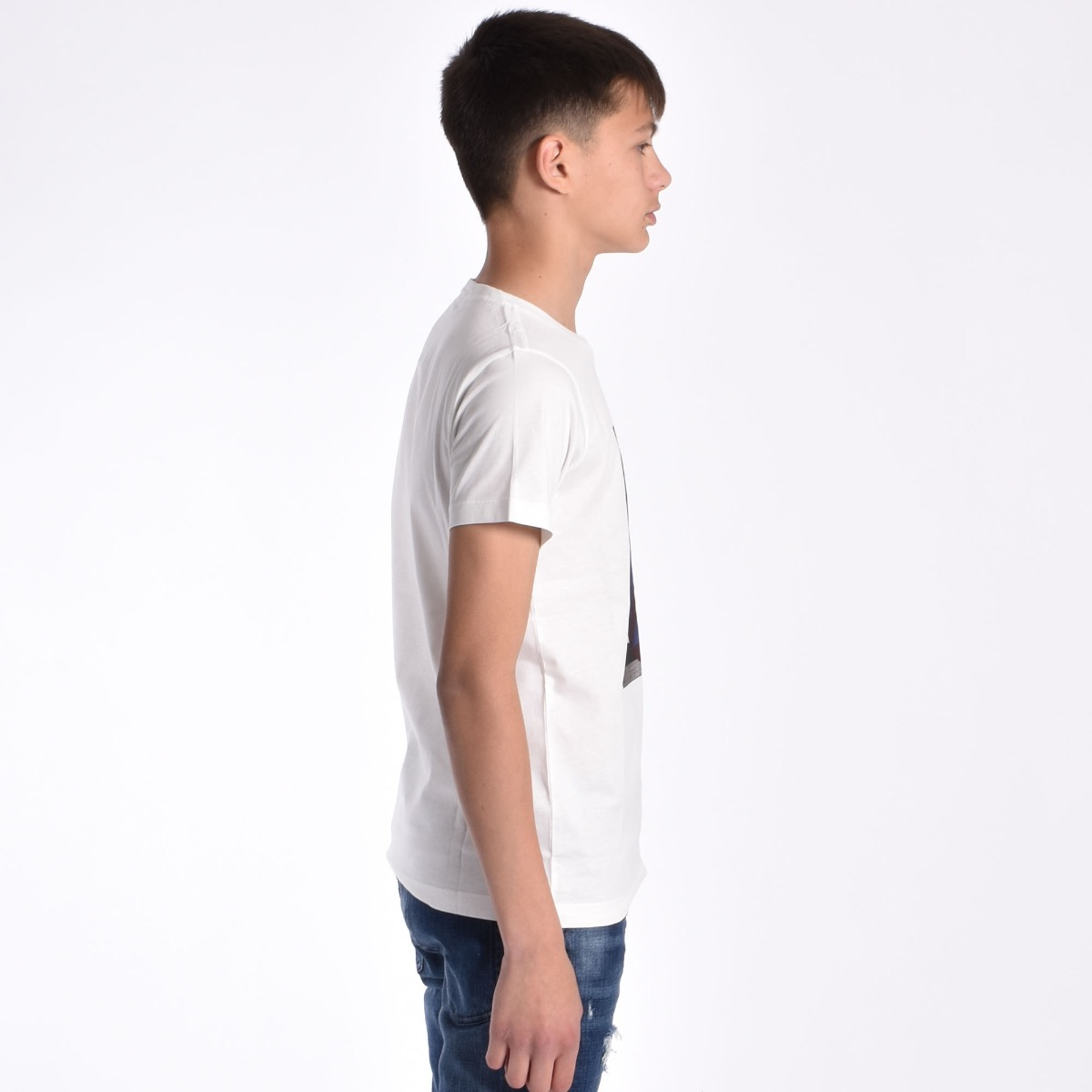 T-shirt con stampa - Bianca