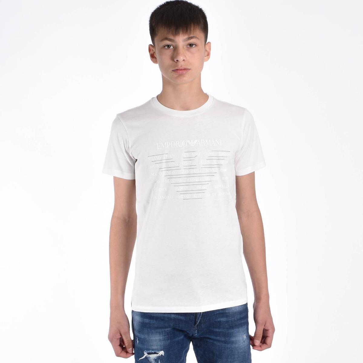 T-shirt logo - Bianco