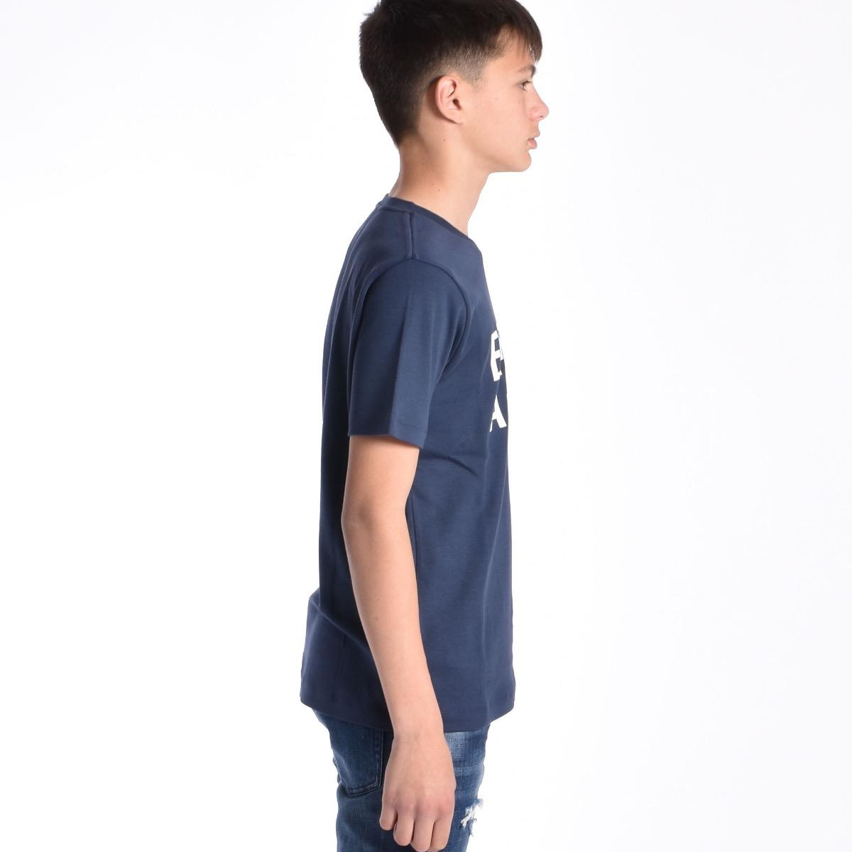 T-shirt logo - Blu indaco