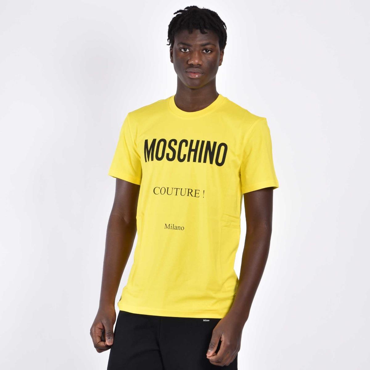 T-shirt couture - Giallo