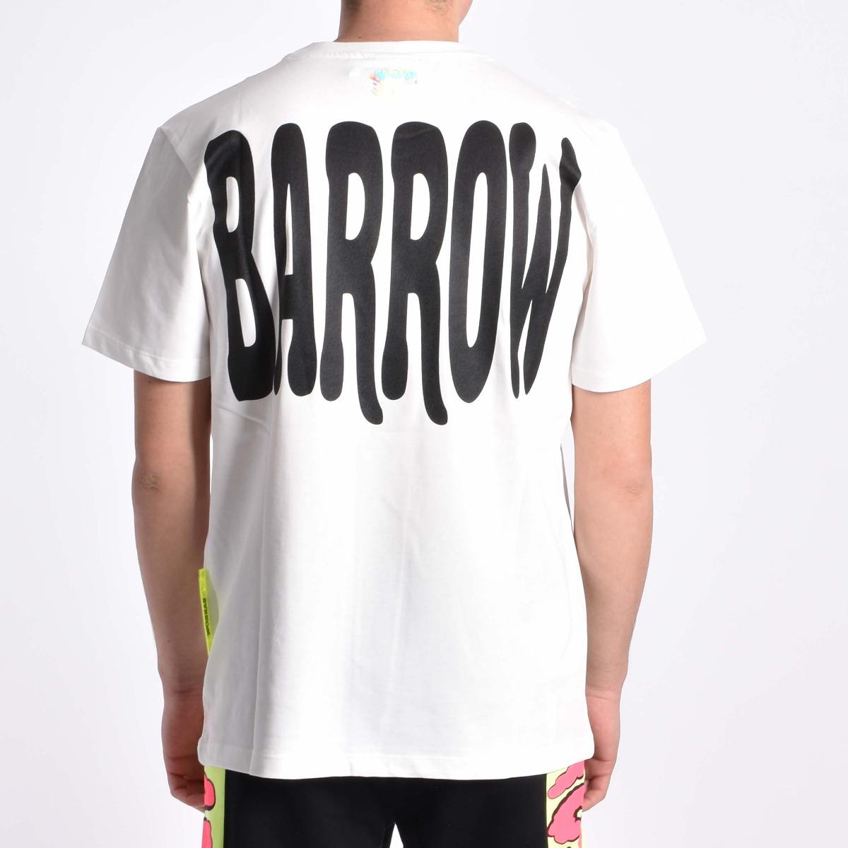 T-shirt stampa flock - Bianco