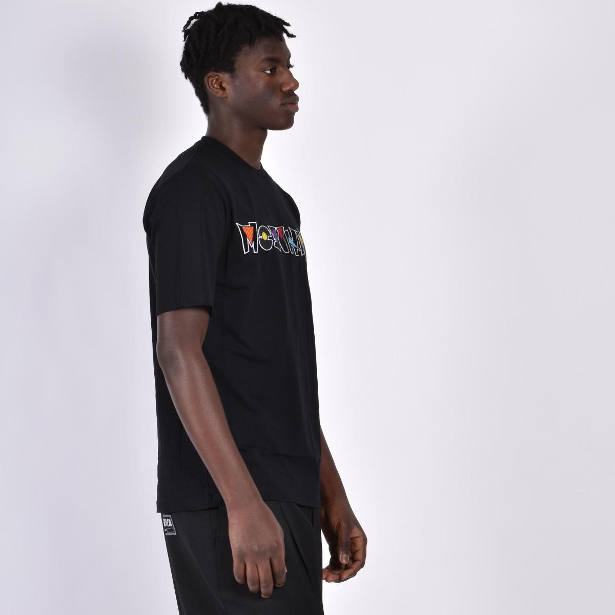 T-shirt logo ricamo - Nero