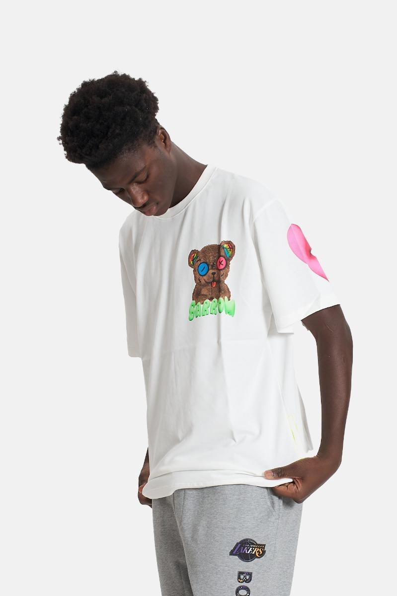 T-shirt unisex orsetto barrow - Bianco