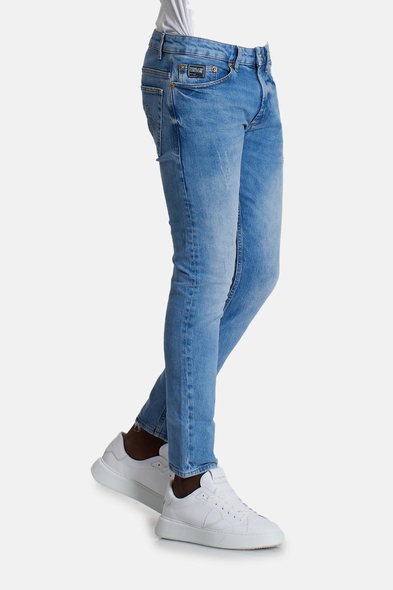 Jeans logo tasca -Denim